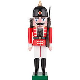 Nussknacker Soldat rot - 40 cm