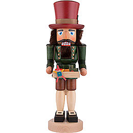 Nussknacker Spielzeughändler lasiert - 40,5 cm