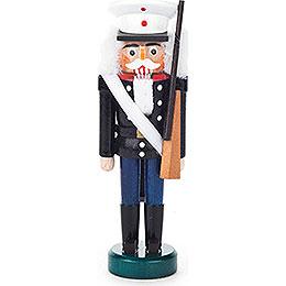 Nussknacker US-Soldat schwarz-blau - 13 cm