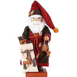 Nussknacker Weihnachtsmann Herbstfarben - 49,5 cm