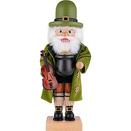 Nussknacker Weihnachtsmann Irish Santa - 50 cm