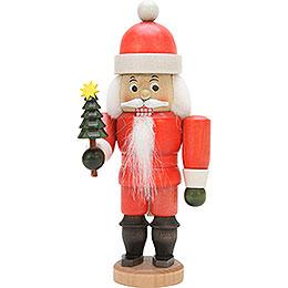 Nussknacker Weihnachtsmann lasiert - 17,5 cm