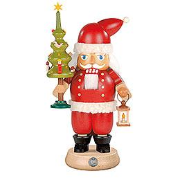 Nussknacker Weihnachtsmann mit Baum - 23 cm