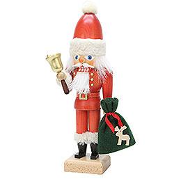 Nussknacker Weihnachtsmann mit Glocke - 30,5 cm