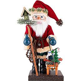 Nussknacker Weihnachtsmann mit Schlitten - 47 cm