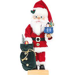 Nussknacker Weihnachtsmann mit Spieldose, limitiert - 47,5 cm