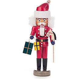 Nussknacker Weihnachtsmann rot - 15 cm