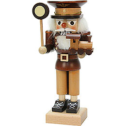 Nutcracker - Conductor Natural Wood - 24,5 cm / 10 inch