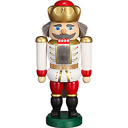 Nutcracker - Exclusive King White-Red - 20 cm / 7.9 inch