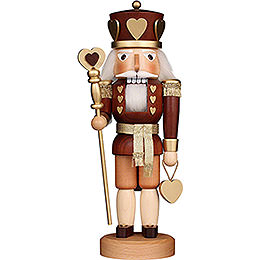 Nutcracker - Heart King Natural - 37,5 cm / 14.8 inch