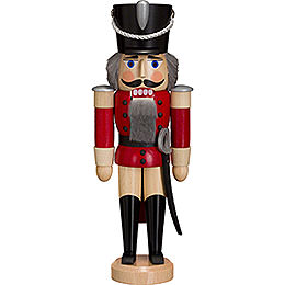 Nutcracker - Hussar - Ash - Red - 28 cm / 11 inch