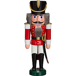 Nutcracker - Hussar Red - 28 cm / 11 inch