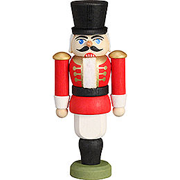 Nutcracker - Hussar Red - 9 cm / 3.5 inch