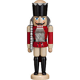 Nutcracker - King - Ash - Red - 38 cm / 15 inch