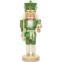 Nutcracker - King Green/Gold - 37,5 cm / 14.7 inch