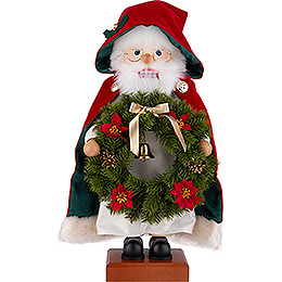 Nutcracker - Santa Wreath - 45 cm / 17.7 inch