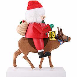 Nutcracker - Santa with Reindeer - 26 cm / 10 inch