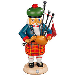 Nutcracker - Scotsman with Bagpipe - 27 cm / 11 inch