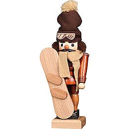 Nutcracker Snowboarder Natural - 30 cm / 11.8 inch