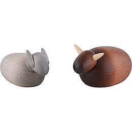 Ochs und Esel - 4 cm