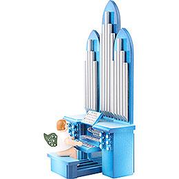 Orgel mit Engel und Spielwerk - 18,5 cm