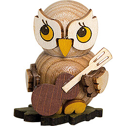 Owl Child with Guitar - 4 cm / 1.6 inch
