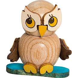 Owl Child with Snowboard - 4 cm / 1.6 inch
