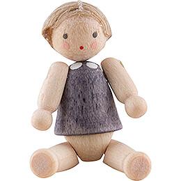 Püppchen mit Haar, Junge - 2,8 cm
