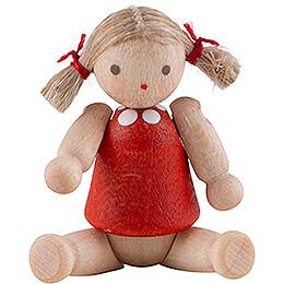 Püppchen mit Haar, Mädchen - 2,8 cm