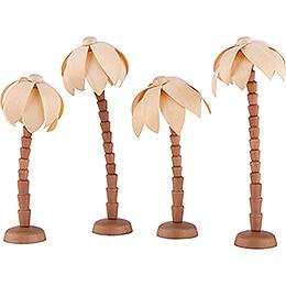 Palm Trees - 4 pcs. - for Thiel Figurines Nativity - 12 cm / 4.7 inch