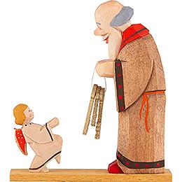 Petrus mit Engel - 7,5 cm