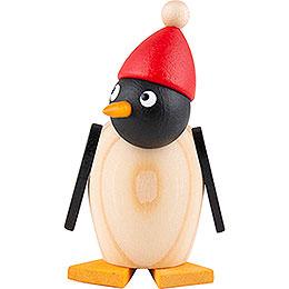 Pinguinbaby mit Mütze - 3,5 cm