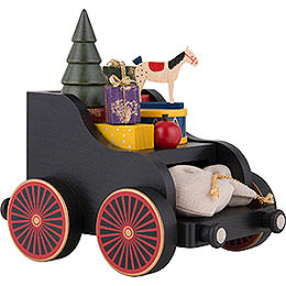 Presents Wagon for Railroad - 19x17x13 cm/7.4x6.7x5.1 inch