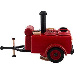 Räucher-Gulaschkanone Feuerwehr - 14 cm
