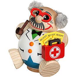 Räuchermännchen Arzt - Kugelräucherfigur - 12 cm