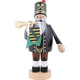 Räuchermännchen Bergmann mit Trompete - 20 cm