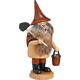 Räuchermännchen Bergwichtel mit Schaufel - 18 cm