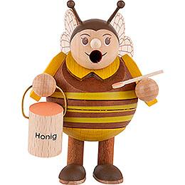 Räuchermännchen Biene - Minikugelrauchfigur - 9 cm