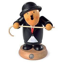 Räuchermännchen Charlie Chaplin - 16 cm