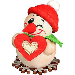 Räuchermännchen Cool Man mit Herz - Kugelräucherfigur - 8 cm
