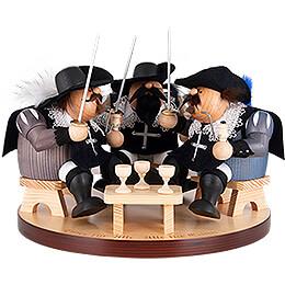 Räuchermännchen Drei Musketiere - 22 cm