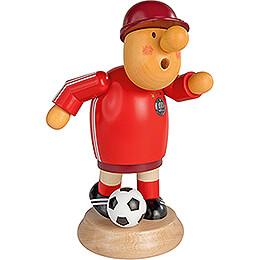 Räuchermännchen Fußballer - 18 cm
