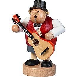 Räuchermännchen Gitarrist - 21 cm