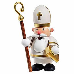 Räuchermännchen Heiliger Sankt Nikolaus - 12 cm