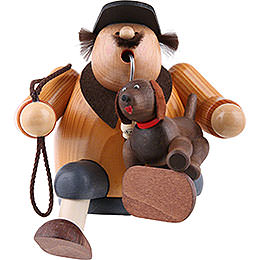 Räuchermännchen Hundefreund - Kantenhocker - 16 cm