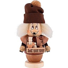 Räuchermännchen Miniwichtel Spielzeughändler - 17 cm