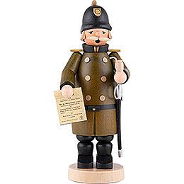 Räuchermännchen Polizist - 18 cm