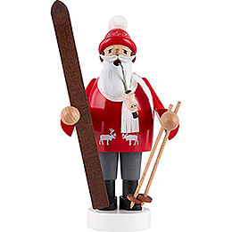 Räuchermännchen Skifahrer - 19 cm