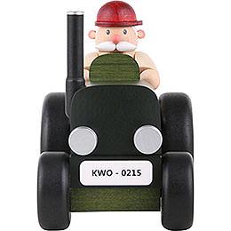 Räuchermännchen Traktorfahrer - 15 cm