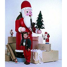 Räuchermännchen Weihnachtsmann - 220 cm